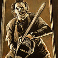 Leatherface by Tom Carlton