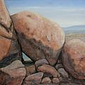 Leaning Rocks by Rik Erickson