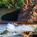 Leasburg Dam New Mexico by Roena King