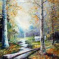 Leaving The Woodland Creek  by Giro  Tavitian
