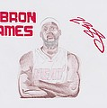 Lebron James by Toni Jaso