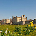 Leeds Castle In Spring 2 by Chris Thaxter
