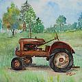 Lee's Tractor by Leslie Hoops-Wallace