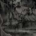Legend Of The Old House In The Swamp by James Christopher Hill