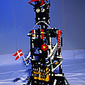 Lego Humanoid Robot Known As Elektra by Volker Steger