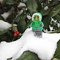 Lego Mini Eskimo In Holly  by Sven Migot