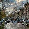 Leidsegracht. Amsterdam by Juan Carlos Ferro Duque