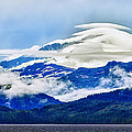 Lenticular And The Chugach Mountains by Rick Berk