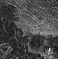 Leonid Meteor Shower, 1833 by Granger