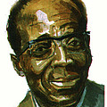 Leopold Sedar Senghor by Emmanuel Baliyanga