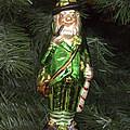 Leprechaun Christmas Ornament by Sally Weigand