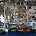 Lerwick Harbour Shetland by Lynn Bolt