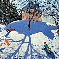 Les Gets by Andrew Macara