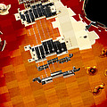 Classic Guitar Abstract by Mike McGlothlen