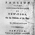 Letter From Phocion, 1784 by Granger