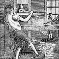 Letter Press Printer, 1807 by Granger