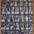 Letterpress Alphabet by Richard Thomas