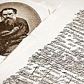 Lev Tolstoy And His Handwriting Notes by Yurix Sardinelly
