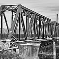 Lewiston-auburn Railroad Bridge by Guy Whiteley
