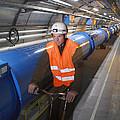 Lhc Tunnel, Cern by David Parker