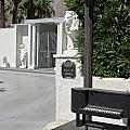 Liberace's Driveway by Randall Weidner