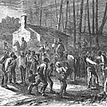 Liberating Slaves, 1864 by Granger