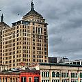 Liberty Building And Hotel Lafayette by Michael Frank Jr