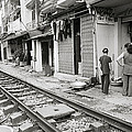 Life By The Tracks In Old Hanoi by Shaun Higson