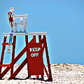 Life Guard Stand by Carolyn Marshall