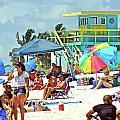 Life Is A Beach by Dieter  Lesche