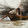 Life On Lake Tonle Sap 3 by Bob Christopher