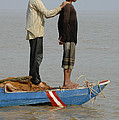 Life On Lake Tonle Sap 4 by Bob Christopher