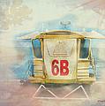 Lifeguard Post No 6b Hookipa State Park by Paulette B Wright
