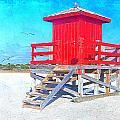 Lifeguard Stand by Stephen Warren