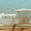 Lifeguard Tower 12 by Kathleen Grace