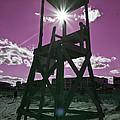 Lifeguard Tower II by Betsy Knapp