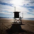 Lifeguard Tower Newport Beach California by Paul Velgos