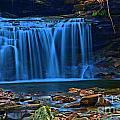Light Blue Falls by Adam Jewell