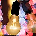 Light Bulb And Bokeh by Setsiri Silapasuwanchai