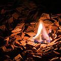 Light Of Fire Creates Coziness ... by Michael Goyberg