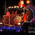 Lighted Cement Truck by Randy Harris