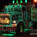 Lighted Green Dumptruck by Randy Harris