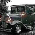 Lighted Old Black And White by Randy Harris