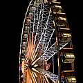 Lighted Wheel by Endre Balogh