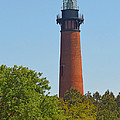 Lighthouse At Corolla N C by J D  Whaley