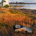 Lighthouse At Dawn by Jill Battaglia