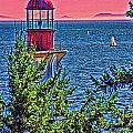 Lighthouse Hdr by Randy Harris