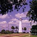 Lighthouse In Biloxi Mississippi by Halifax Artist John Malone