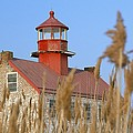 Lighthouse In Wheat Field by Axiom Photographic