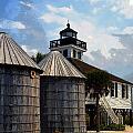 Lighthouse On Gasparilla by David Lee Thompson